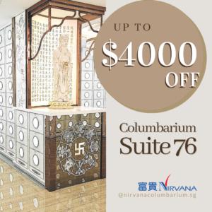 columbarium 76 April promotion